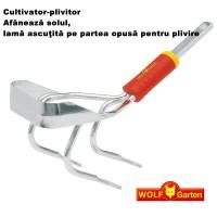 Cultivator-plivitor Wolf Garten iE-M