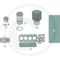 Set reparatii motor Case IH 433, 440, 533